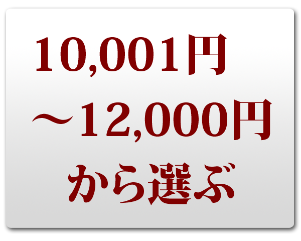 冬ギフト 10,001~12,000円で選ぶ