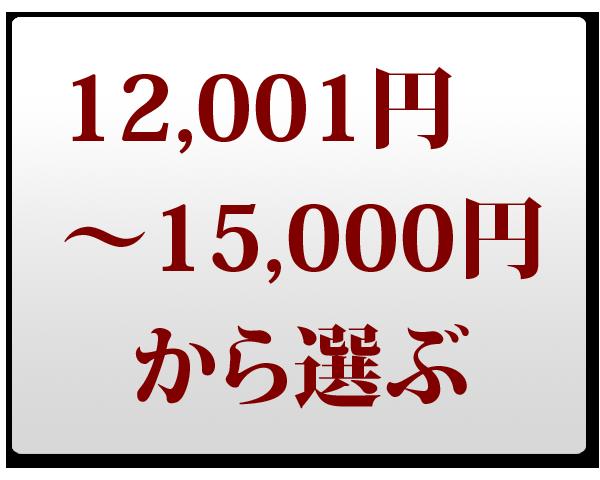 12,001~15,000円で選ぶ