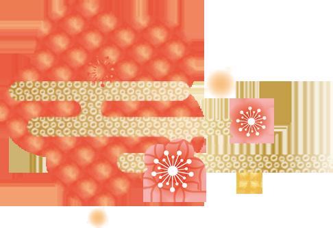 桃の節句背景01