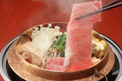 近江牛特上すき焼き 500g入り 冷凍